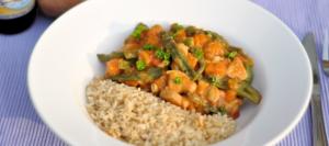 Indiase curry met bloemkool